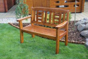 Záhradná lavica pre dvoch GOLD