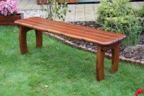 Záhradná lavička bez operadla LORIT