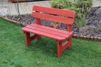 Záhradná detská lavička