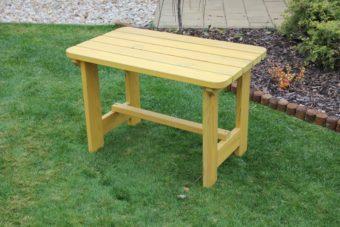 Záhradný detský stôl