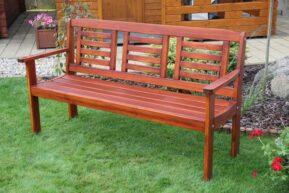 Záhradná lavica pre 3 osoby LONUS