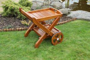 Barový servírovací vozík