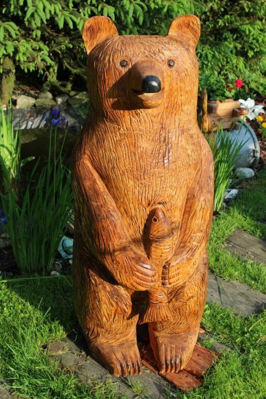 Záhradná dekorácia Medveď