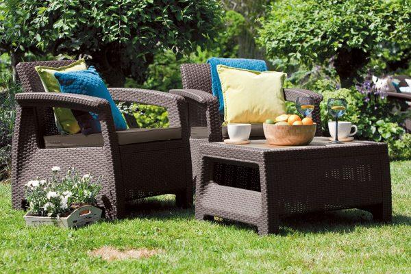 Záhradné sedenie Corfu weekend