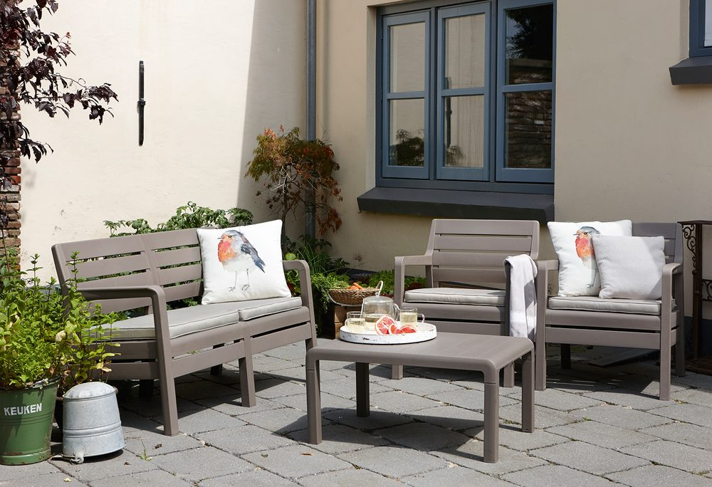 Delano Lounge za%CC%81hradne%CC%81 sedenie umely%CC%81 ratan