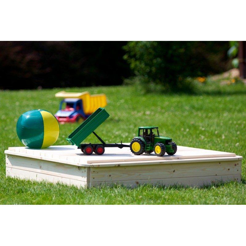 Záhradné pieskovisko 150x150cm - s krytom