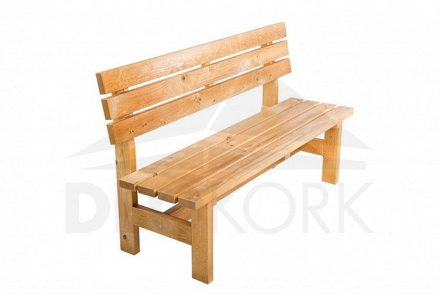 1d82a8ad182ec Masívna drevená záhradná lavica TEA 04 hrúbka 38 mm | Záhradný ...
