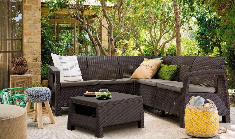 Corfu záhradný nábytok