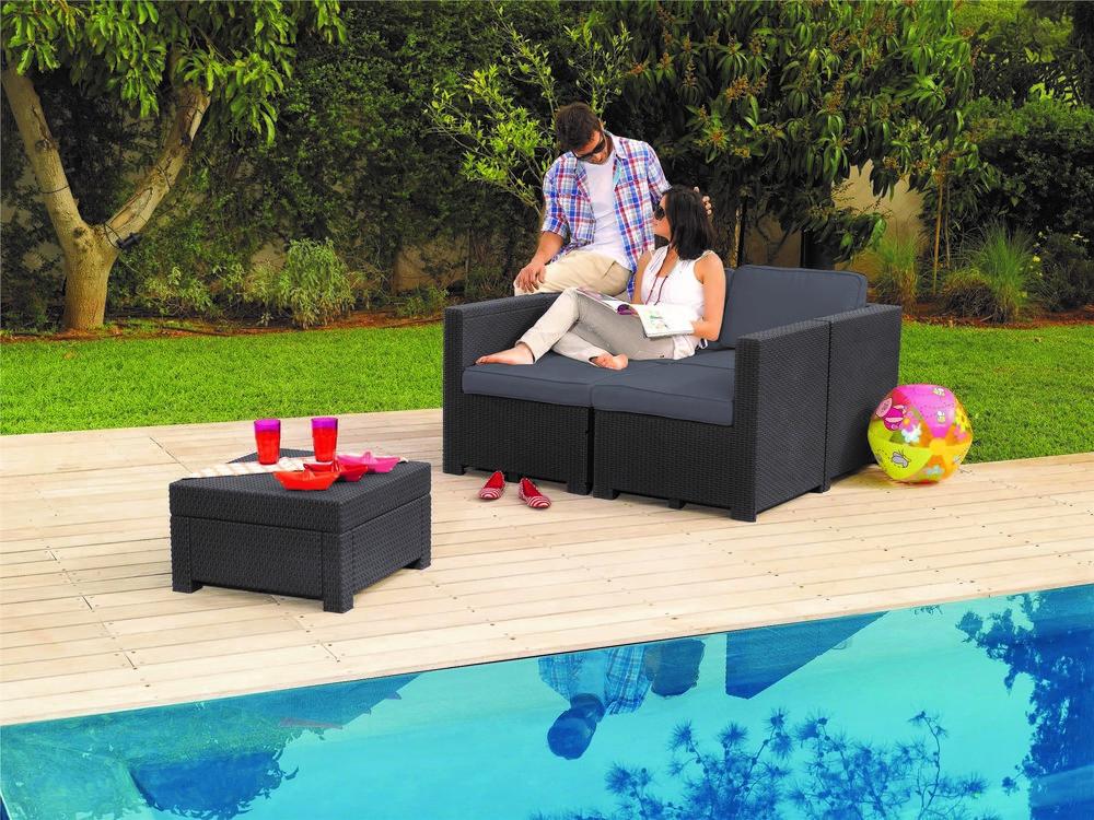 modus záhradné sedenie