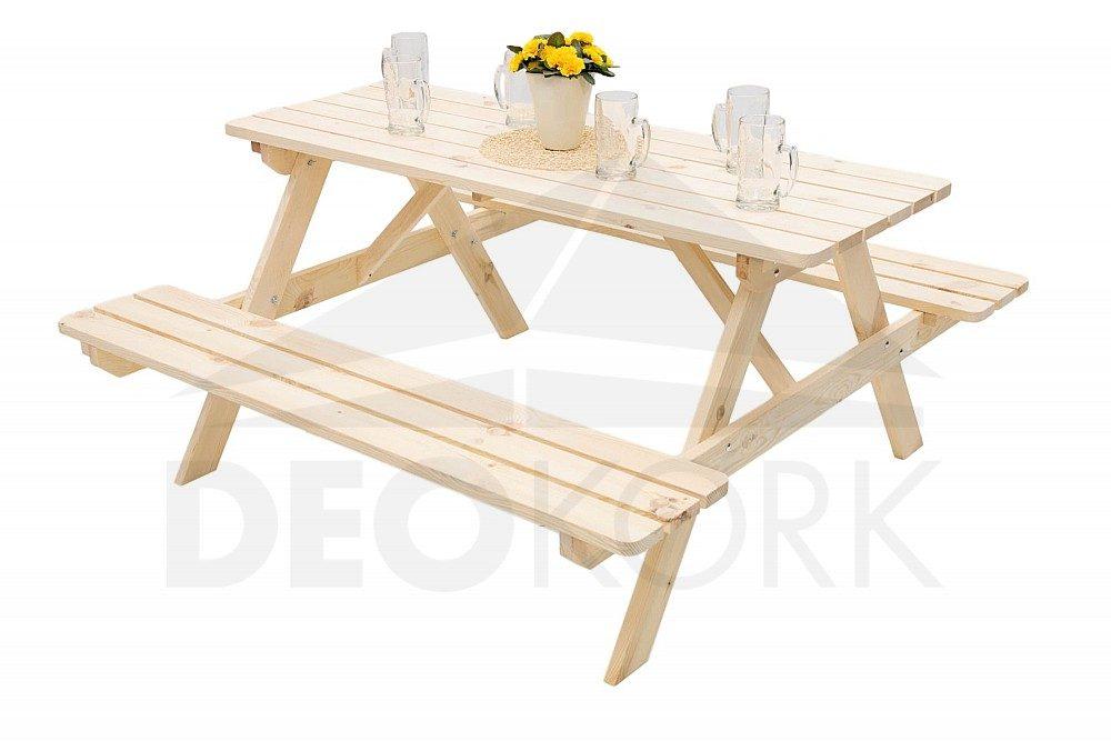b138bae84cd2 Masívny drevený pivný set z borovice - prírodný (rôzne veľkosti ...