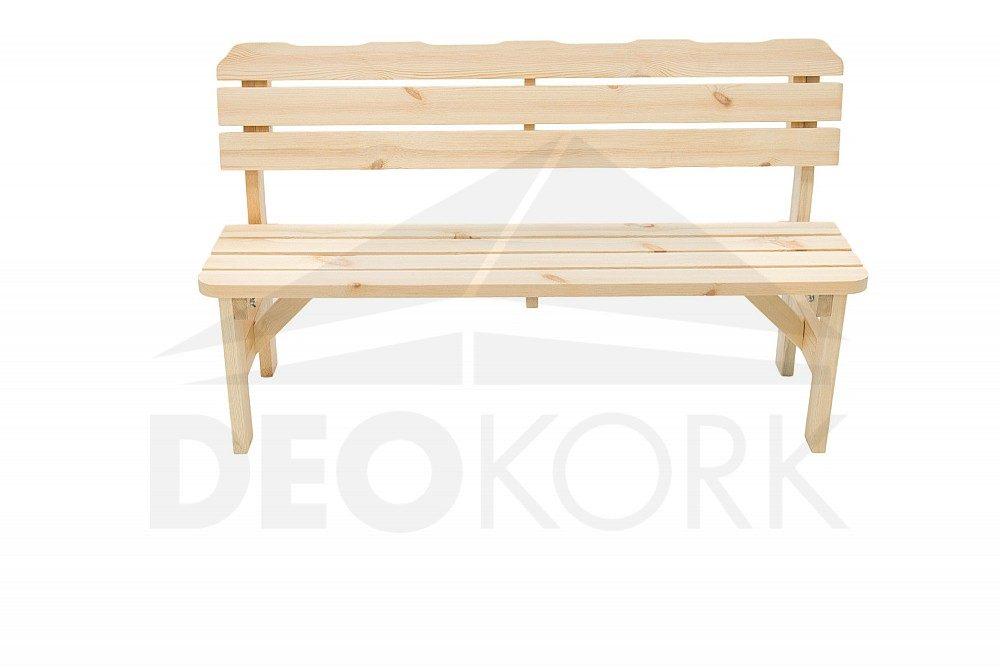 111cd416b085a Masívna drevená záhradná lavica z borovice drevo - 22 mm a 32 mm ...