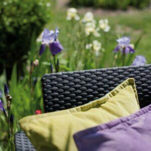 Záhradná ratanová zostava CORFU DUO – rôzne farby