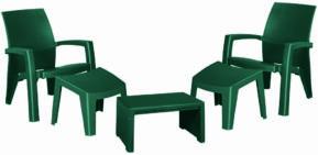 Plastové sedenie Lago Maxi
