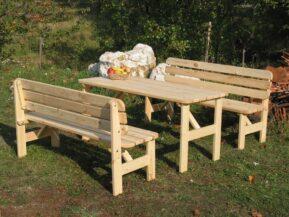 VIKING - borovicové sedenie na záhradu
