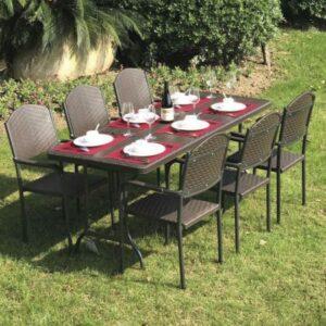 Záhradná stolová zostava BARI set 6