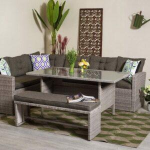 Záhradná stolová zostava TUNIS