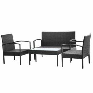 Ratanové sedenie vidaXL 42673