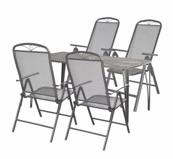 Kovové sedenie Hecht Navassa Lux 4