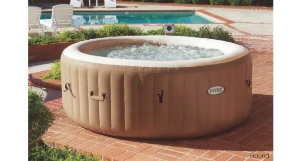 Bazén vírivý Pure Spa Bubble HWS hnedý