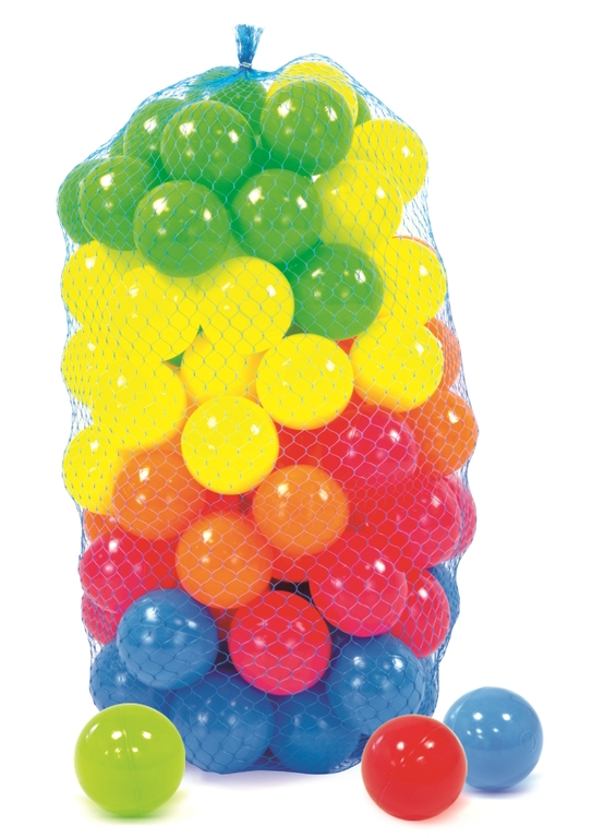 Loptičky plastové - 100 ks
