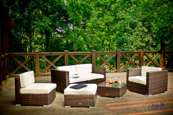 Ratanový záhradný nábytok DISCRETO