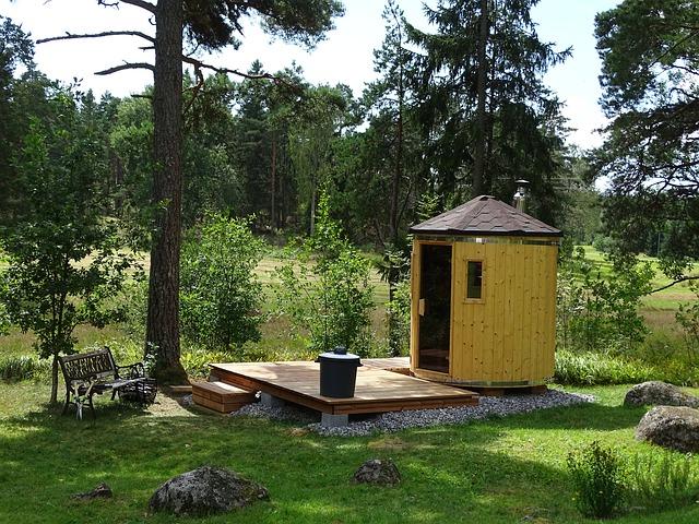 sauna do zahrady
