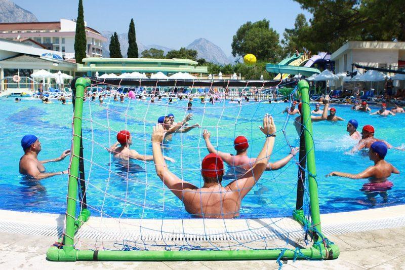 loptova hra vo vode