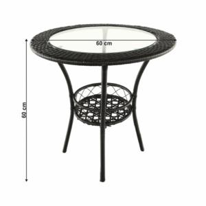 Ratanový stôl Lasan