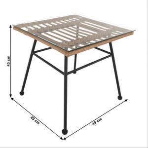 Ratanový stôl Vasal